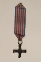 2000.226.2 back Monte Cassino Commemorative Cross  Click to enlarge