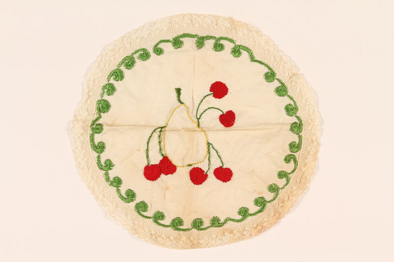 2001.326.2 front Doily