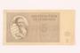 Theresienstadt ghetto-labor camp scrip, 5 kronen note