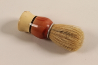 2005.256.1 front Shaving brush received in a concentration camp  Click to enlarge