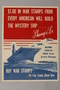US Retailers for Victory poster of the carrier Shangri-La on a red, white, and blue background