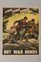 US Buy War Bonds poster depicting charging soldiers