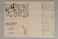1988.42.58 front US ration point guide poster with tables for February 1944  Click to enlarge