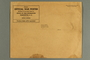 Light brown paper envelope used for mailing war posters