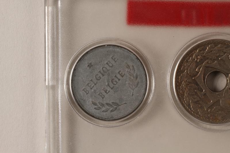 1988.106.1.1 back Belgium, 2 franc coin