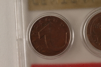 1988.106.1.7 back Austria currency, 2 groschen coin  Click to enlarge