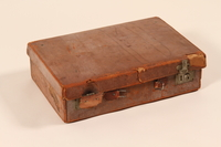 2002.478.1 front Suitcase used by a concentration camp prisoner  Click to enlarge