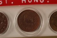 1988.106.1.8 front Hungary currency, 2 fillér coin  Click to enlarge