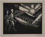 Plate 4, Herbert Sandberg, Der Weg: 2 young men hike toward a rising sun