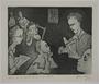 Plate 7, Herbert Sandberg, Der Weg: man reciting Heine to young boys