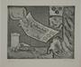Plate 11, Herbert Sandberg, Der Weg: hand giving 500 million mark note to a beggar