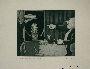 Plate 14, Herbert Sandberg series, Der Weg: a piglike man yells at a hungry girl for ruining his dinner