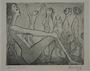 Plate 19, Herbert Sandberg series, Der Weg: a parade of nudes of different types