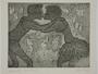 Plate 20, Herbert Sandberg series, Der Weg: young man and woman kissing