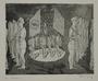 Plate 34, Herbert Sandberg series, Der Weg: scene ca. fall 1932 of the Nazis moving past political rivals