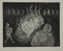 Plate 35, Herbert Sandberg series, Der Weg: a Nazi book burning