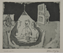Plate 37, Herbert Sandberg series, Der Weg: friends meeting in a social hall