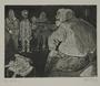 Plate 40, Herbert Sandberg series, Der Weg: a young man being interrogated by Nazi Stormtroopers