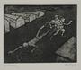 Plate 49, Herbert Sandberg series, Der Weg: two guards drag an emaciated prisoner