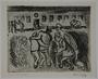 Plate 51, Herbert Sandberg series, Der Weg: infirm and elderly inmates walk to the hospital