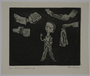 Plate 53, Herbert Sandberg series, Der Weg: young boy in prison uniform with helping hands