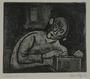 Plate 56, Herbert Sandberg series, Der Weg: prisoner with an illegal wireless radio