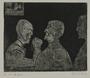 Plate 57, Herbert Sandberg series, Der Weg: three prisoners deep in conversation