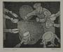 Plate 65, Herbert Sandberg series, Der Weg: communal soup pot amid empty dishes