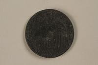 1987.90.80 front Łódź (Litzmannstadt) ghetto scrip, 5 mark coin  Click to enlarge