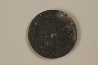 1987.90.80 back Łódź (Litzmannstadt) ghetto scrip, 5 mark coin  Click to enlarge