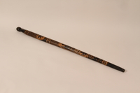 1991.230.1 front Walking stick from Baranowitschi concentration camp  Click to enlarge