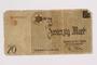 Łódź (Litzmannstadt) ghetto scrip, 20 mark note, acquired by a ghetto inmate
