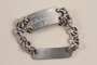 Prisoner ID bracelet worn by a non-Jewish doctor imprisoned for resistance activity