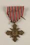 Ceskoslovensky Valecny Kriz 1939 (Czechoslovak War Cross) with ribbon awarded to a Czech Jewish soldier