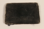 Black leather bi-fold wallet used by a Jewish family in hiding
