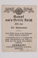 2005.315.11 back Forest of Nazi Flags cigarette card  Click to enlarge