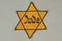 Star of David badge imprinted Jude worn by a German Jew