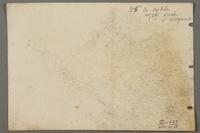 2005.181.138 back Drawing by Alexander Bogen of three partisans sitting together  Click to enlarge