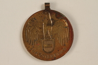 2005.517.3 front Kriegserinnerungsmedaille [War Commemorative Medal], 1914-1918 awarded to a Jewish soldier  Click to enlarge