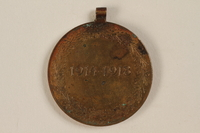 2005.517.3 back Kriegserinnerungsmedaille [War Commemorative Medal], 1914-1918 awarded to a Jewish soldier  Click to enlarge