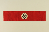1994.122.2 front Nazi Party swastika armband  Click to enlarge