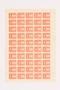 Ostarbeiter [Eastern worker] Sparmarke [savings stamp] block, 1 Reichsmark