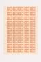Ostarbeiter [Eastern worker] Sparmarke [savings stamp] block, 10 Reichsmark