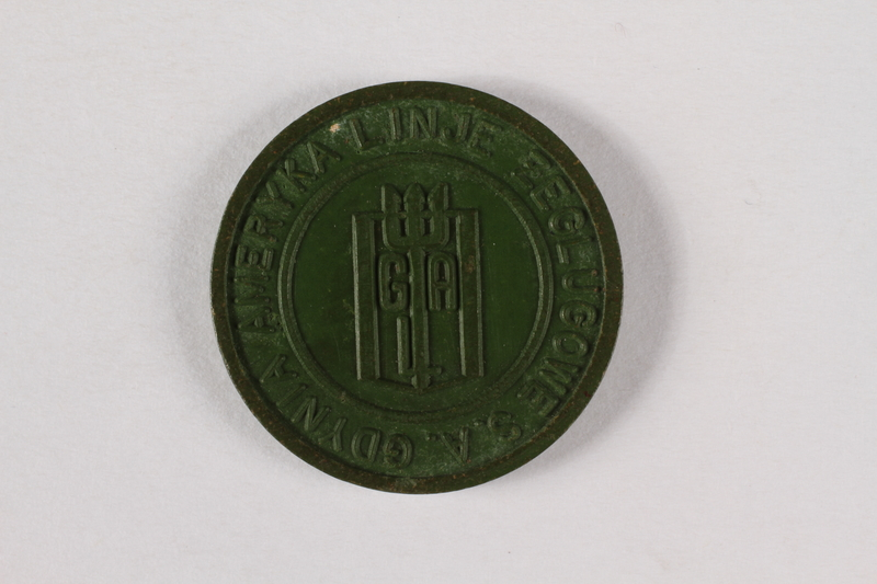 1995.A.0286.5 back Ship Token