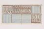 Westerbork transit camp voucher, 50 cent note