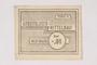 Mittelbau forced labor camp scrip, .01 Reichsmark note