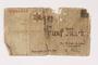 Lodz (Litzmannstadt) ghetto scrip, 5 mark note