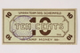 Scheinfeld Displaced Persons Camp scrip, 10 cent note