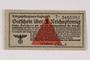 German Prisoner of War Camp general issue currency, kriegsgefangenen lagergeld, 1 Reichspfennig