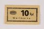 Holleischen subcamp scrip, 10 Reichspfennig note